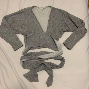 Wrap Sweatshirt
